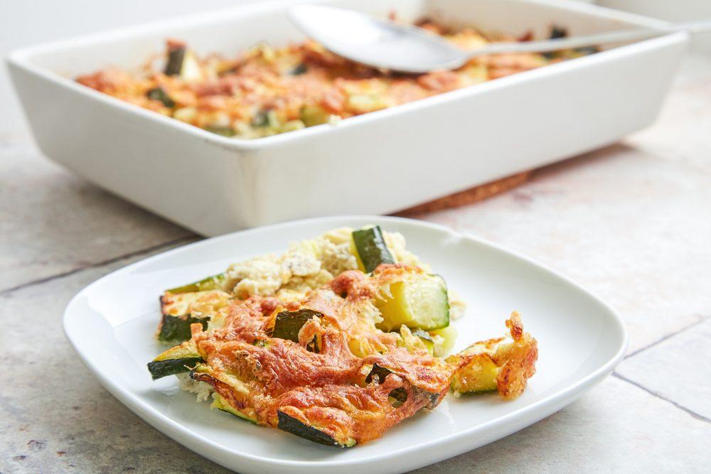 Timballo di zucchine, uova e formaggio: la ricetta golosa per riciclare gli avanzi