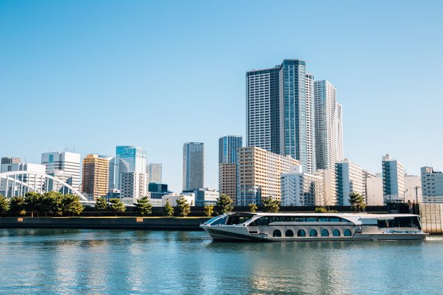 bar più strani del mondo floating boat Tokyo