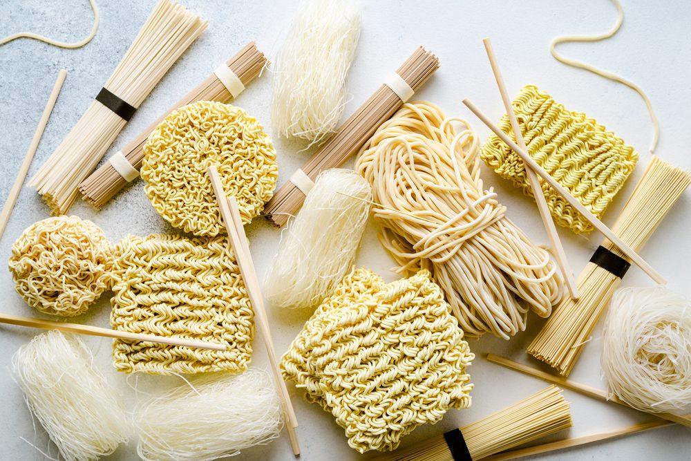 Noodles, Udon, Soba, Somen: le tipologie di pasta orientale e come usarle in cucina