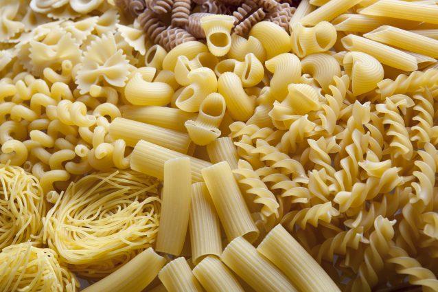 pasta pastasciutta varietà tipi consumi