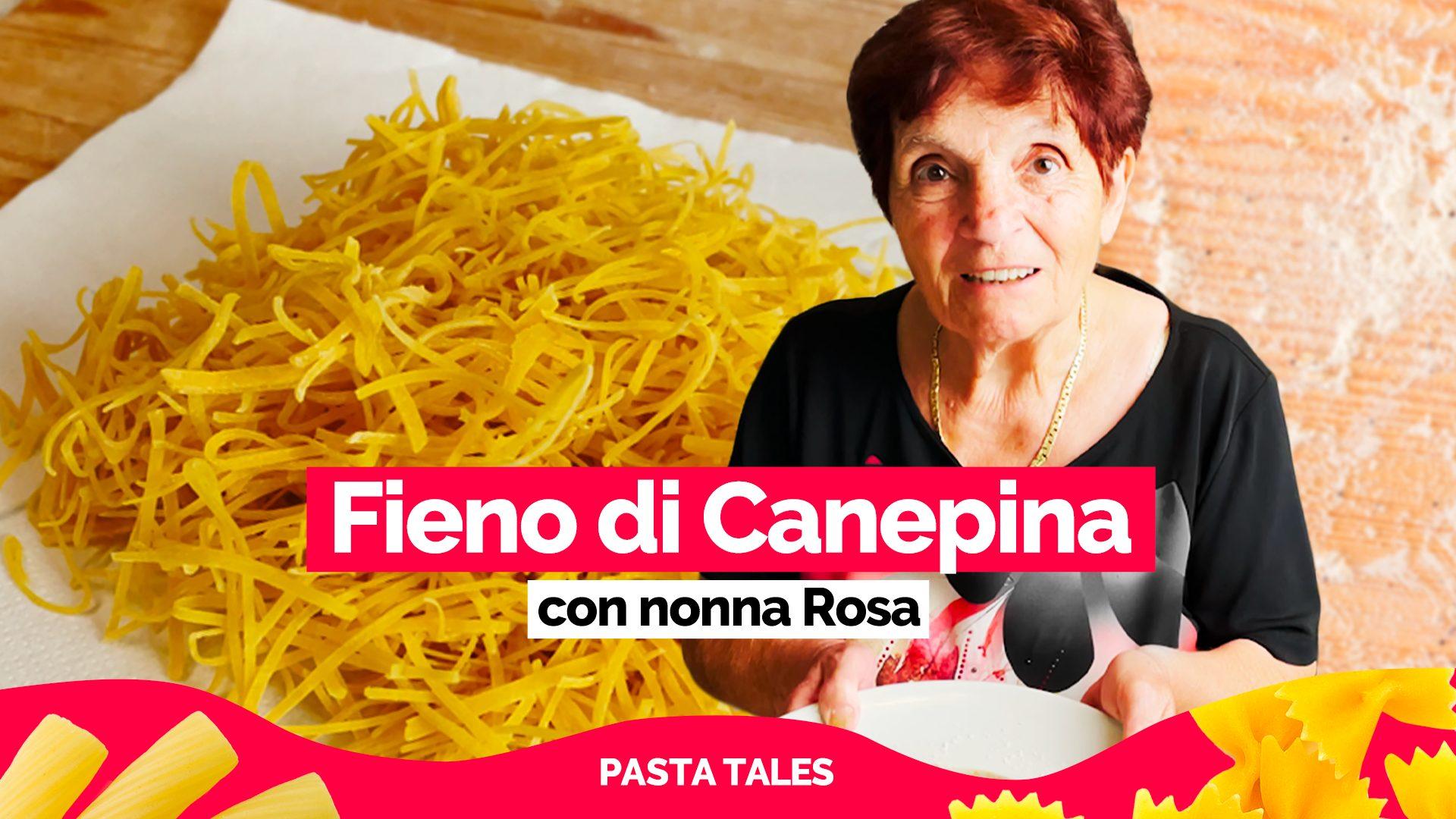Fieno di Canepina, dal 1600 ai giorni nostri: la ricetta di una pasta ultra centenaria