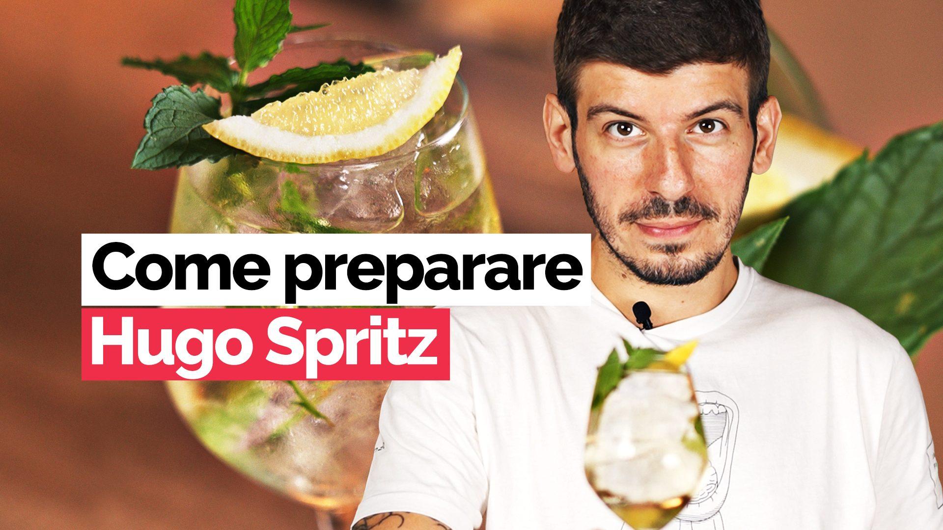 Alla scoperta del cocktail Hugo, il famoso spritz bianco da aperitivo