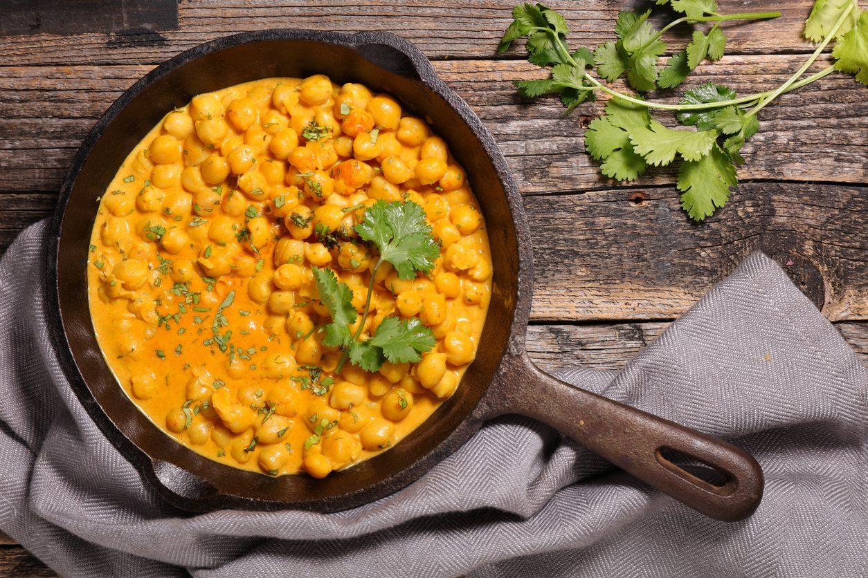 Ceci al curry: la ricetta della pietanza nutriente e speziata