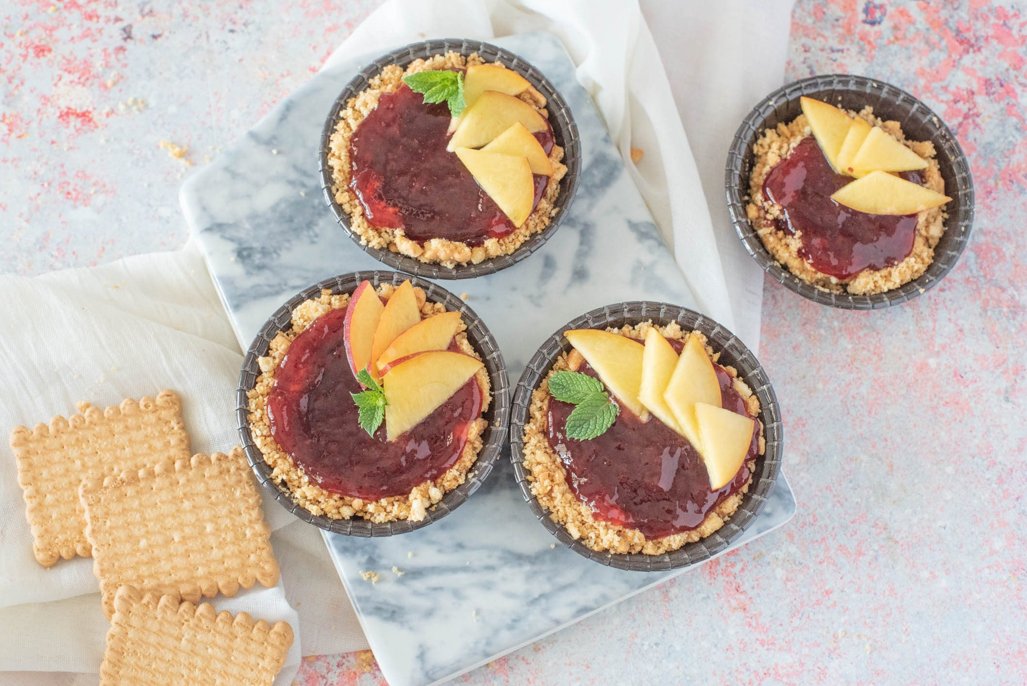 Crostatine senza cottura: la ricetta golosa e perfetta per l'estate