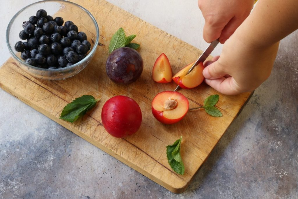preparare la frutta fresca
