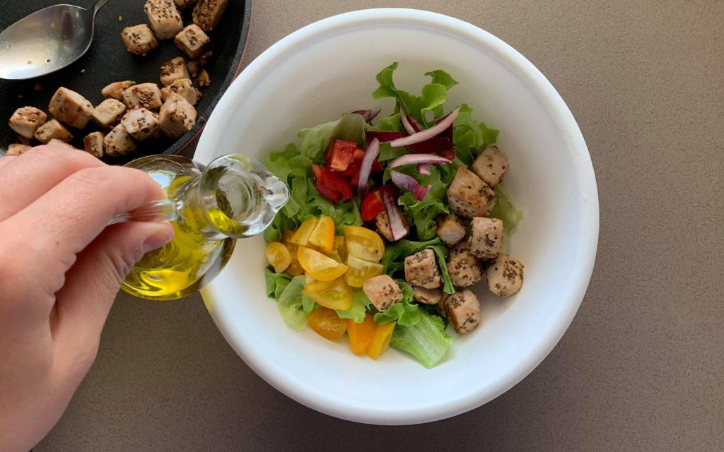 comporre insalata