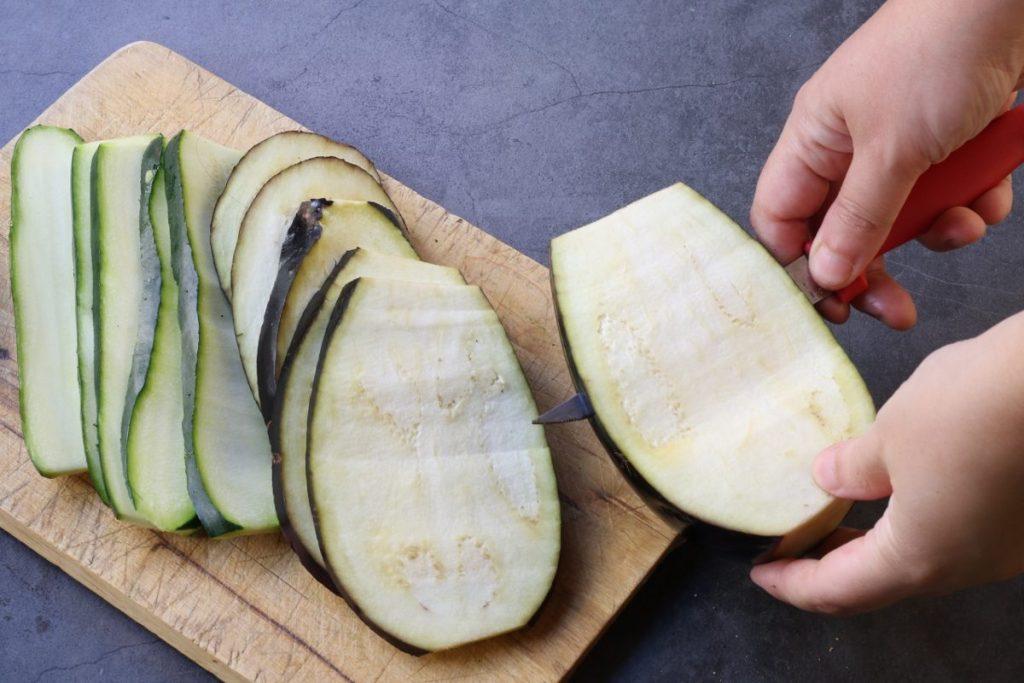 affettare le verdure