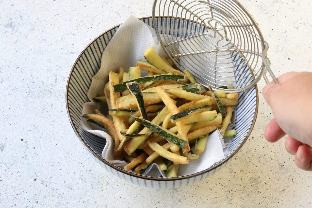 scolare le zucchine