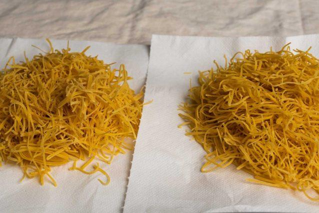 fieno di canepina mazzette pasta fatta in casa
