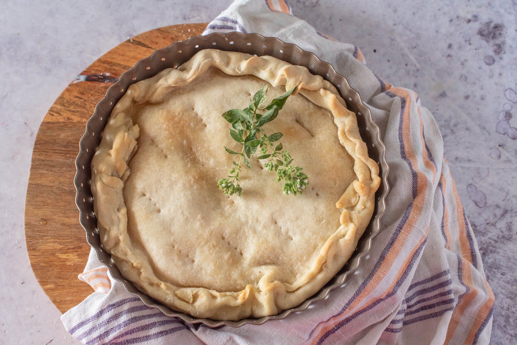 Torta de gee: la ricetta della torta salata tipica ligure