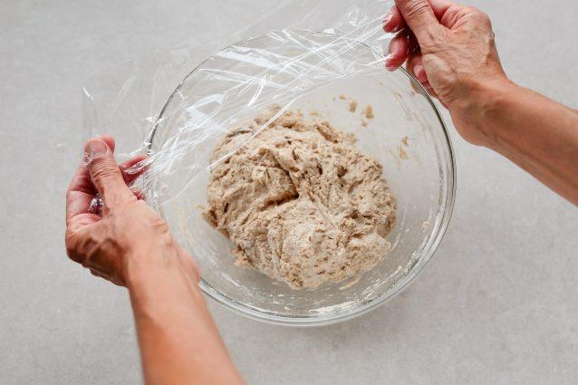 1 Focaccia con fichi, crescenza e ricotta salata