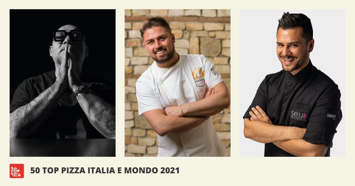 50 Top Pizza: Martucci, Vitagliano e Seu sul podio, donne quasi assenti dalla classifica