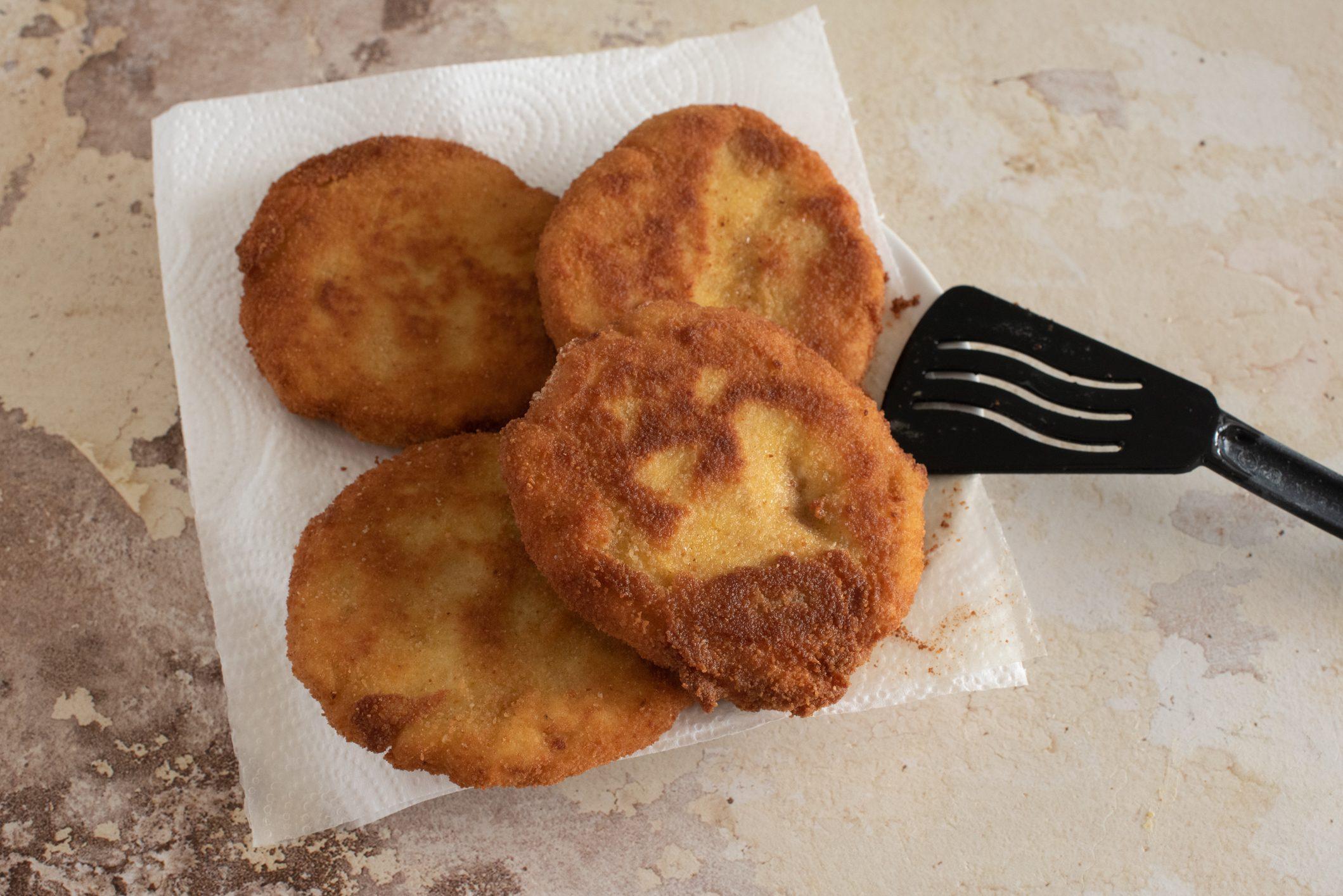 Cotolette di patate e ricotta