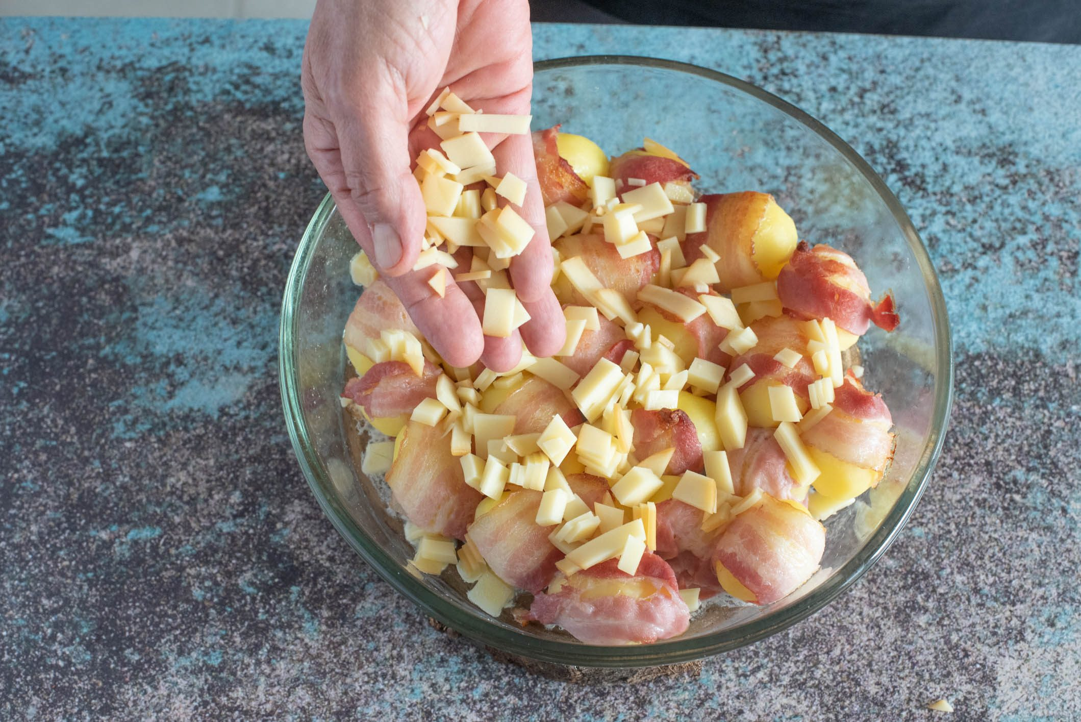 patate al bacon