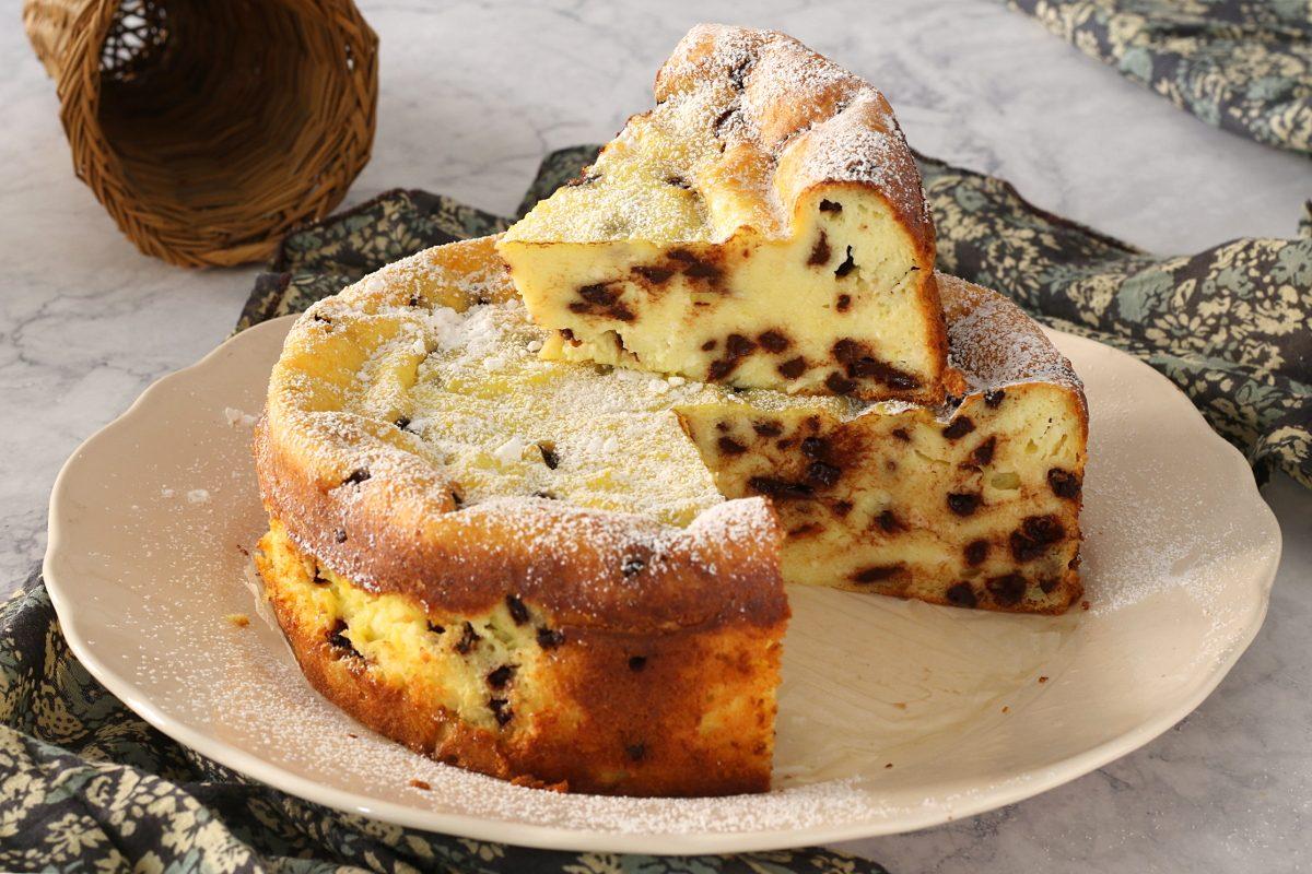 Torta magica alla ricotta: la ricetta del dolce goloso e gluten free