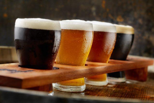bicchieri birra artigianale degustazione
