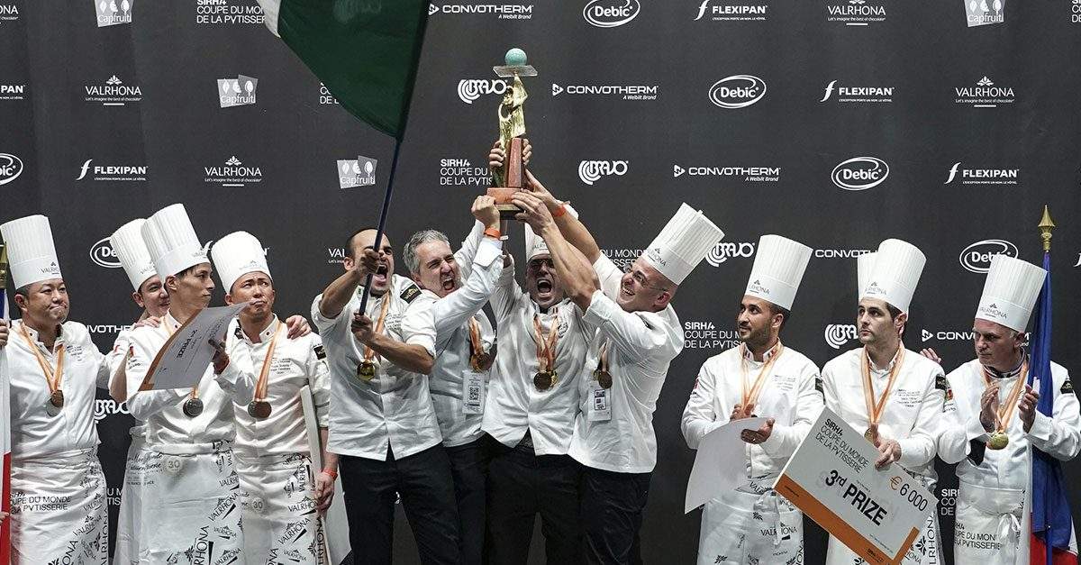 L'Italia trionfa anche in pasticceria: terzo titolo mondiale per il team azzurro