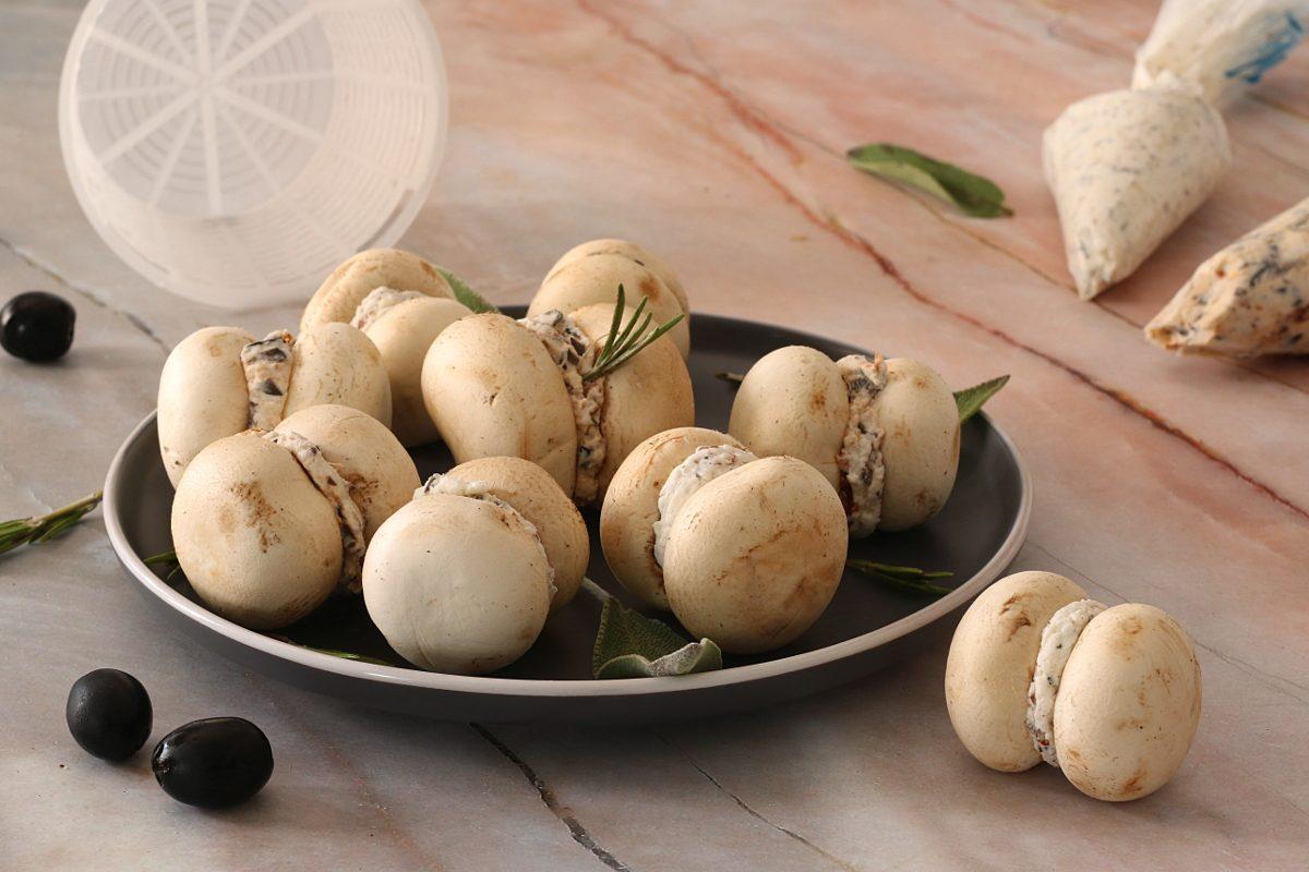 Baci di champignon: la ricetta dell'antipasto elegante e originale