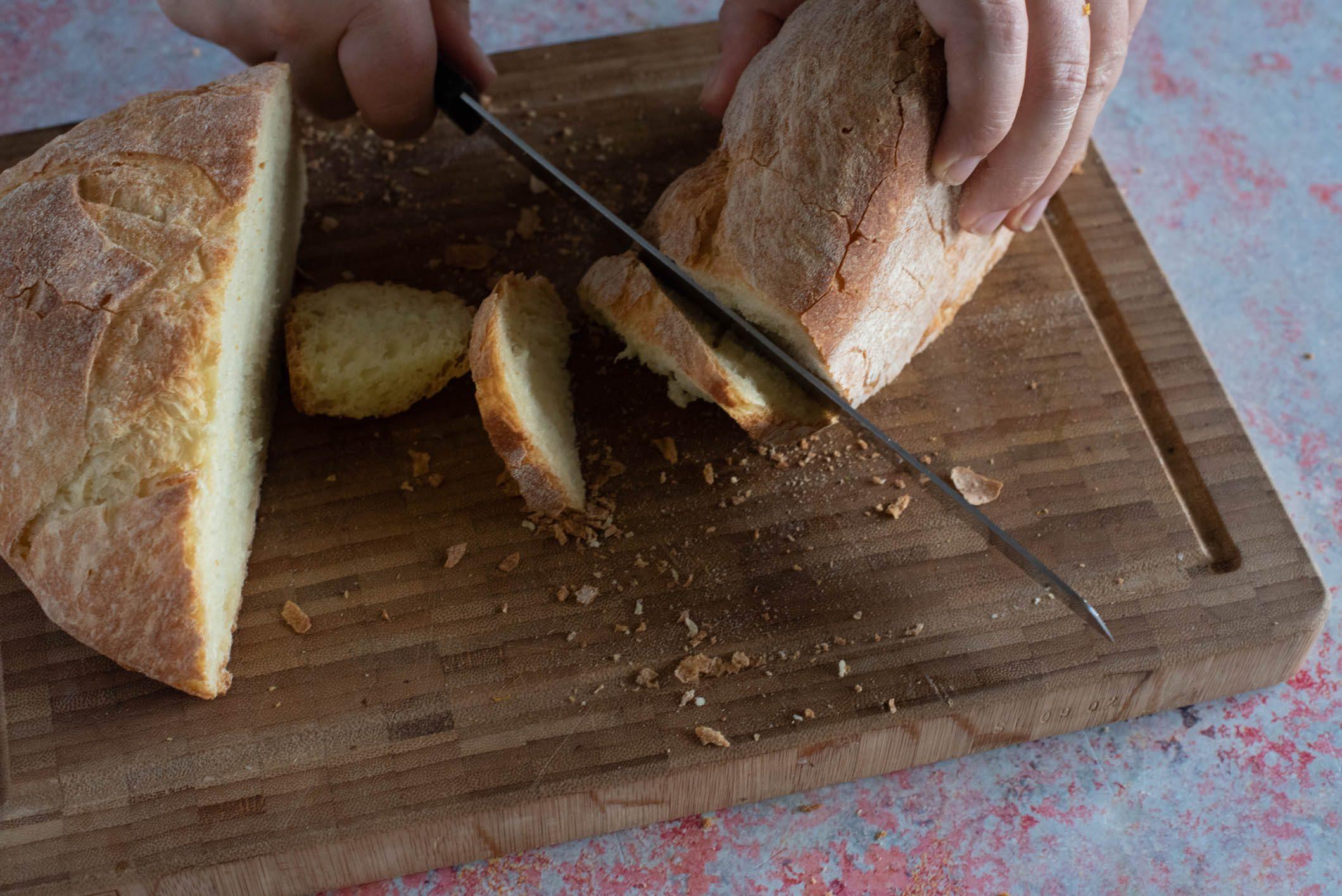 Crostoni zucca e pancetta