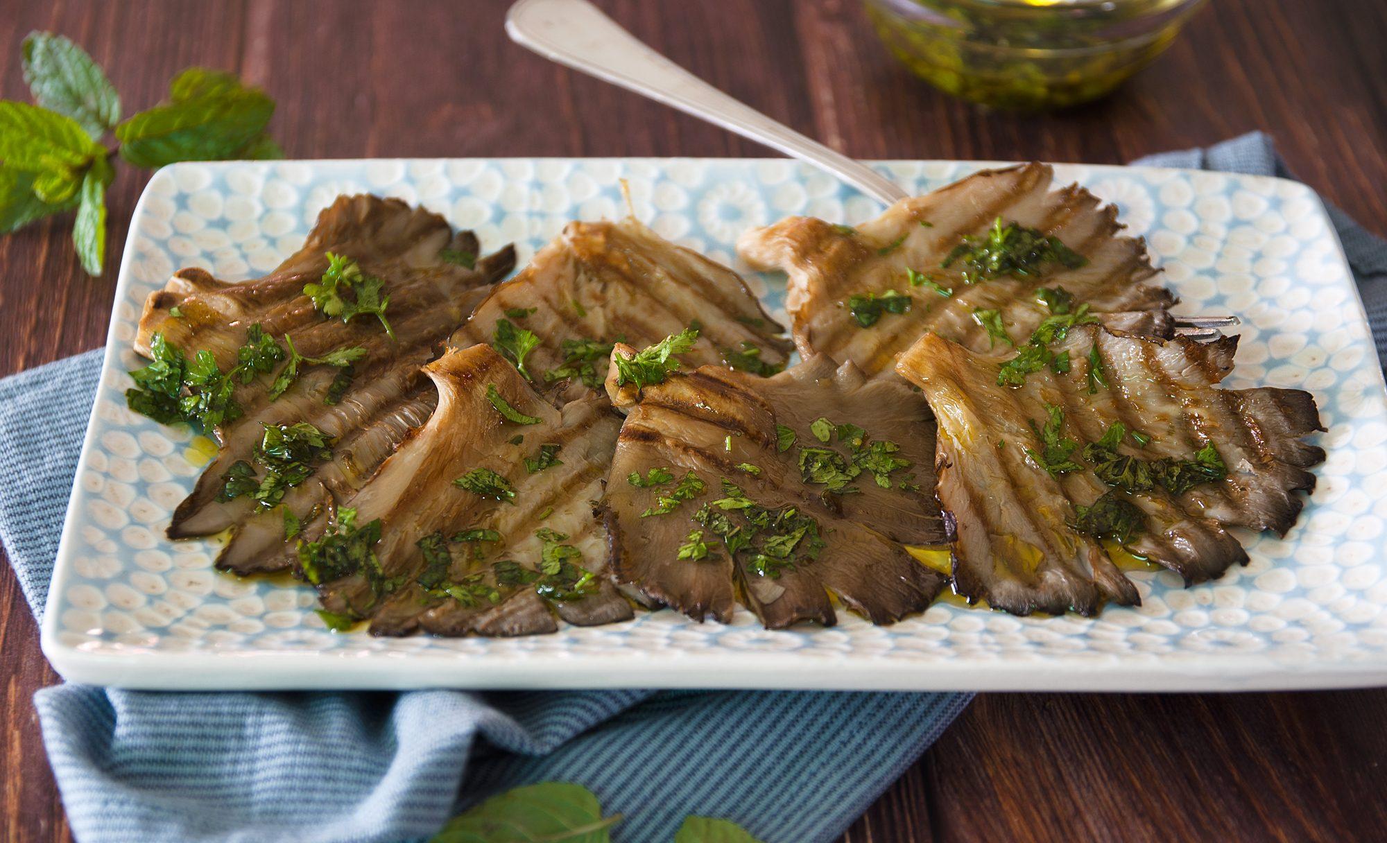 Funghi alla griglia: la ricetta del contorno gustoso e aromatico