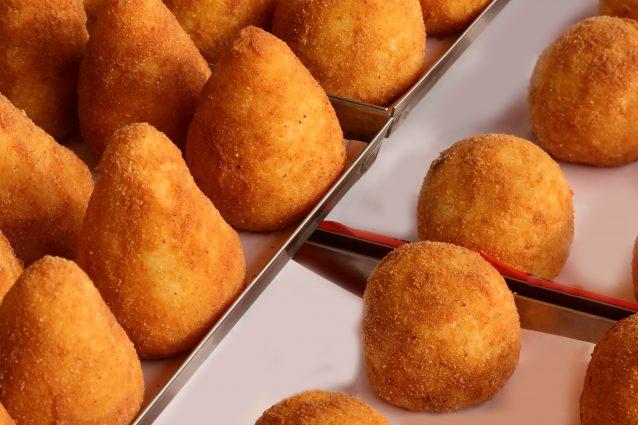 arancino street food challenge