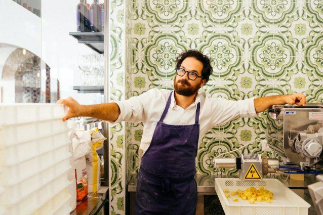 Luciano Monosilio pasta ristorante