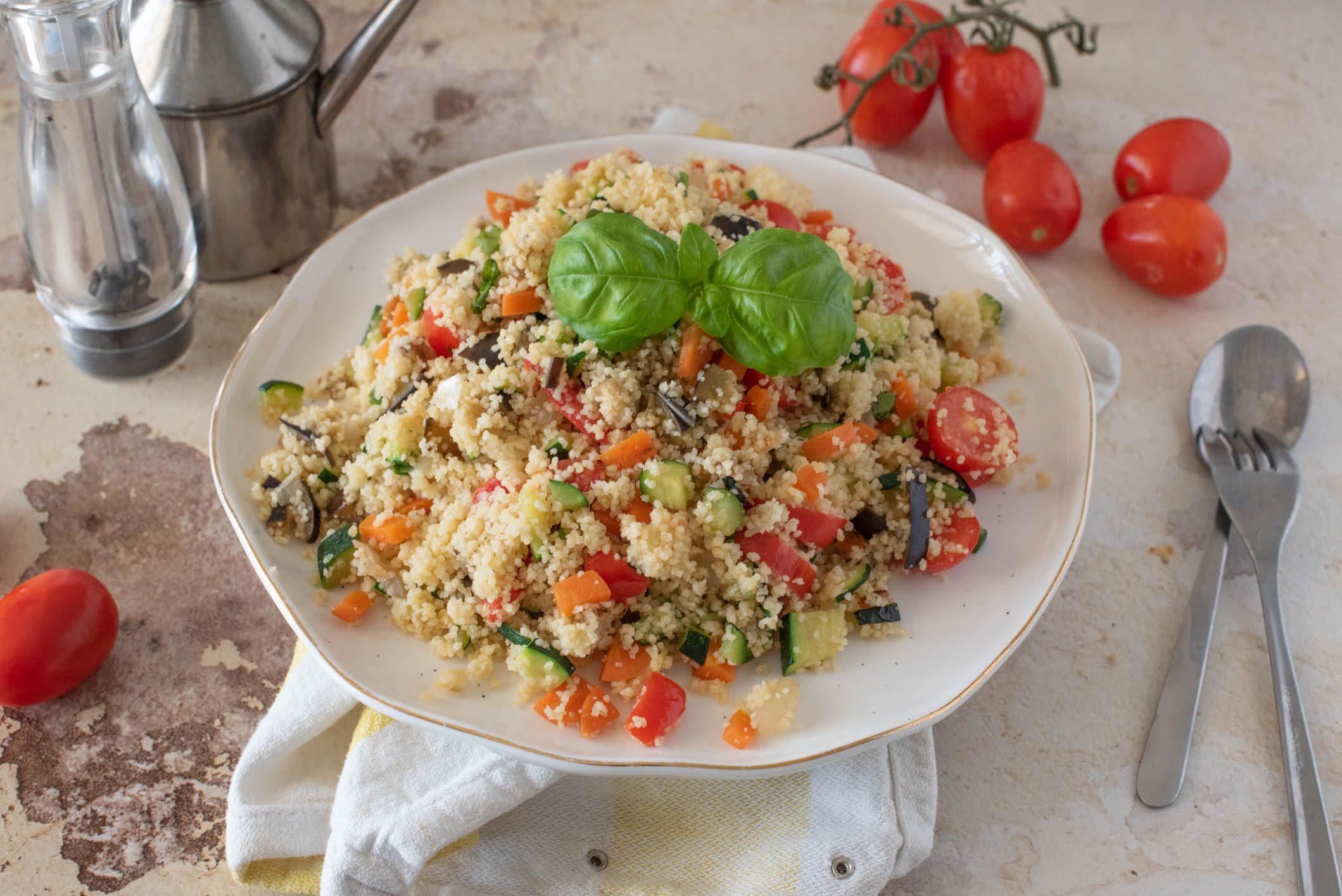 Cous cous alle verdure: la ricetta del piatto freddo direttamente dal Maghreb