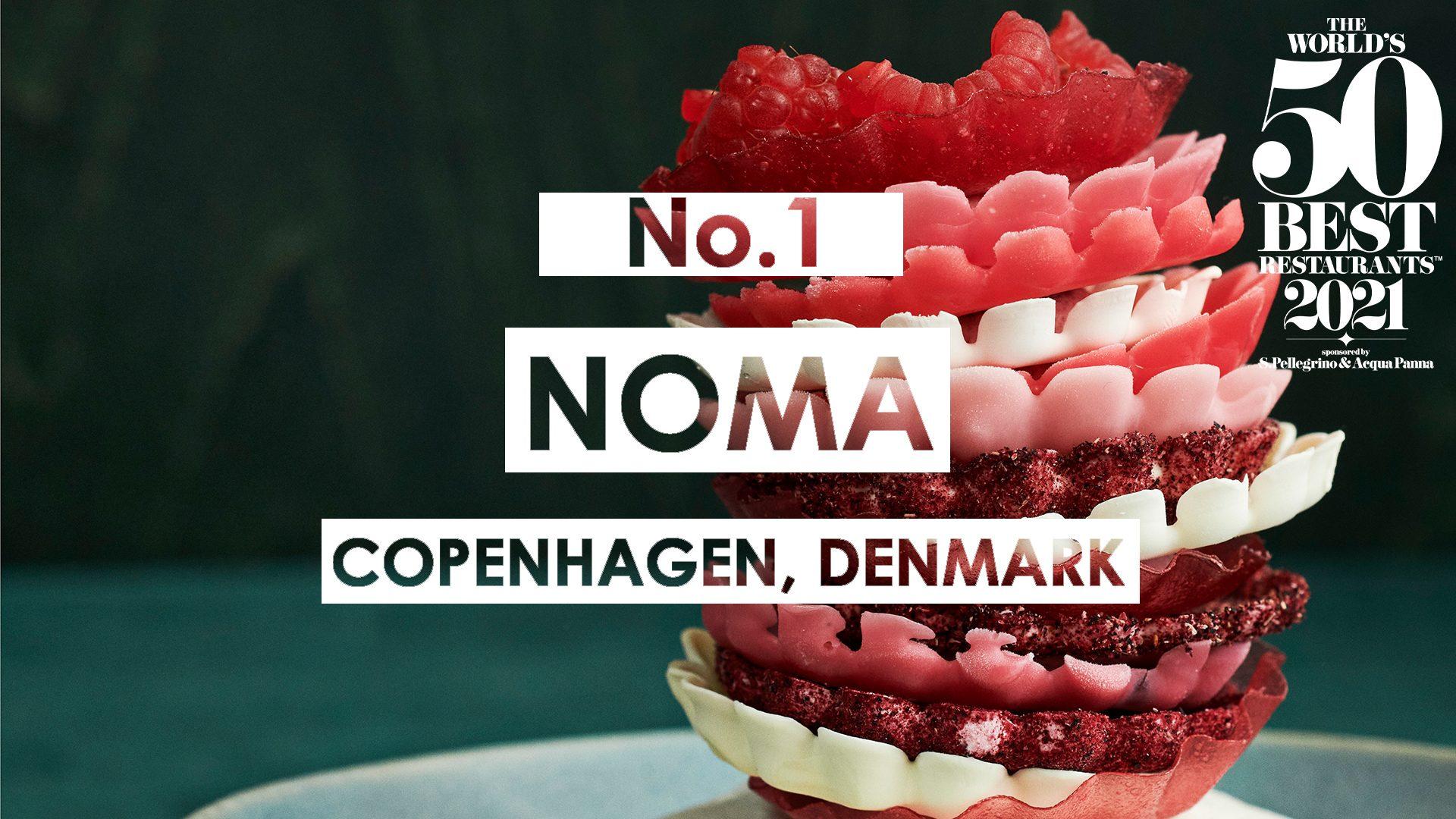 La World's 50 Best premia la Scandinavia: il Noma di nuovo miglior ristorante al mondo